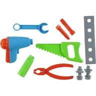 Ucar Toys - Set trusa unelte 13 piese, Galben