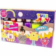 Tuban - Set Tubi Jelly cu 6 culori - Monstri  TU3324