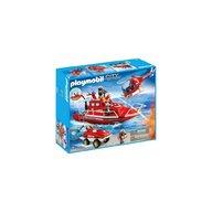Playmobil - SET VECHICULE DE POMPIERI CU MOTOR