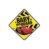 SEVEN-Disney - Baby la bord stiker Cars
