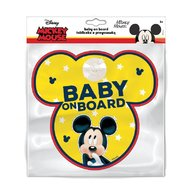 SEVEN-Disney - Baby la bord stiker Mickey Mouse