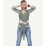 Bykay - Sistem de purtare 3.5 - 18 Kg, Wrap Elastic Deluxe, Minty Grey
