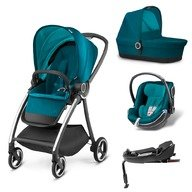 Carucior modular GB Maris 4 in 1 Capri Blue