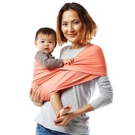 Baby K'tan - Sistem purtare Baby Carrier Active, Coral, Marimea S