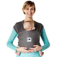 Baby K'tan - Sistem purtare Baby Carrier Breeze, Charcoal, Marimea L