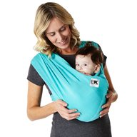 Baby K'tan - Sistem purtare Baby Carrier Breeze,Teal, Marimea S
