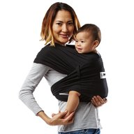 Baby K'tan - Sistem purtare Baby Carrier Original Cotton, Basic Black, Marimea 59755L