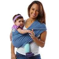 Baby K'tan - Sistem purtare Baby Carrier Original Cotton, Denim, Marimea S