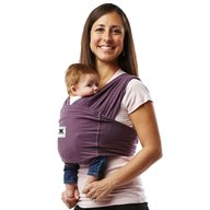 Baby K'tan - Sistem purtare Baby Carrier Original Cotton, Eggplant, Marimea S