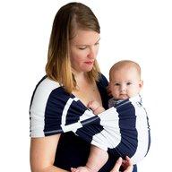 Baby K'tan - Sistem purtare Baby Carrier Print, Navy Stripe, Marimea M
