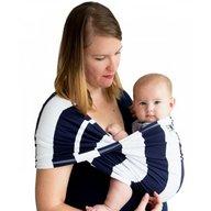 Baby K'tan - Sistem purtare Baby Carrier Print, Navy Stripe, Marimea S