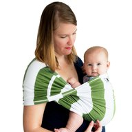 Baby K'tan - Sistem purtare Baby Carrier Print, Olive Stripe, Marimea L