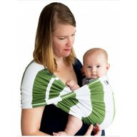 Baby K'tan - Sistem purtare Baby Carrier Print, Olive Stripe, Marimea S