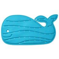 Skip Hop - Covoras de baie antiderapant in forma de balena Moby, Albastru