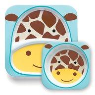 Skip Hop - Set Farfurie & Bol Girafa