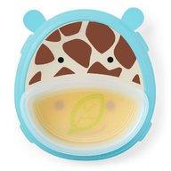 Skip Hop - Set farfurie si bol Zoo Smart, Girafa