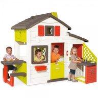 Smoby - Casuta pentru copii Friends Playhouse cu bucatarie