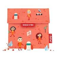 Roll'Eat - Gentuta reutilizabila pentru gustari Snack'n'Go Kids Space