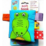 Galt - Carticica moale Soft Book, Jungle