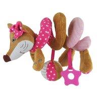 Baby Mix - Spirala cu jucarii Sly Fox, Pink