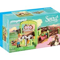 Playmobil - Spirit - Spatiu ingrijire cai Abigail & Boomerang