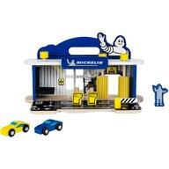 Klein - Set de joaca Statie reparatii masini Cu spalatorie din lemn Michelin
