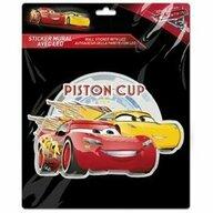 SunCity - Sticker de perete cu led, Cars Piston Cup