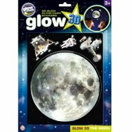 The Original Glowstars Company - Stickere 3D Luna