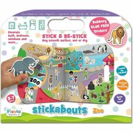 Fiesta Crafts - Stickere Zoo Stickabouts