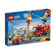 Lego - Stingerea incendiului de la Burger Bar