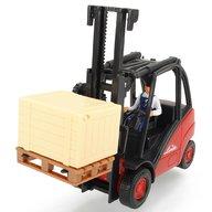 Dickie Toys - Stivuitor Cargo Lifter cu accesorii