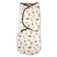 Summer Infant - 55856 Sistem de infasare pentru bebelusi Jungle  0-3 luni