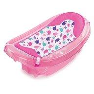 Summer Infant Set cadita si suport de baita Sparkle and Splash Pink