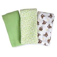 Summer Infant Set de 3 paturici  de muselina