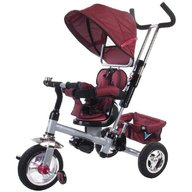 Sun Baby - Tricicleta Confort plus Melange Rosu