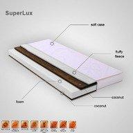 Super Lux  Saltea cocos sandwich 140x70x13,5 cm