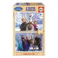 Educa - Super puzzle Disney Frozen 50 piese