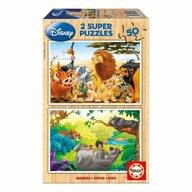 Educa - Super puzzle Disney Jungle 50 piese