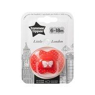 Tommee Tippee - Suzeta ortodontica pentru fetite Little London 6-18 luni