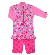 Costum de baie Minnie Mouse marime 98-104 protectie UV Swimpy