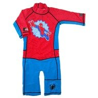 Costum de baie Spiderman marime 98-104 protectie UV Swimpy