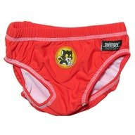 Slip Bamse red marime XL Swimpy