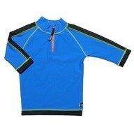 Tricou de baie blue black marimea 122- 128 protectie UV Swimpy
