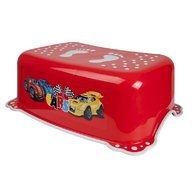 MyKids - Taburet copii Cars, antialunecare, Red/Gray