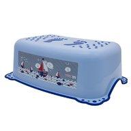 MyKids - Taburet inaltator baie copii Ocean Sea, cu sistem antialunecare, Albastru