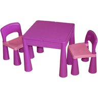 Tega Baby - Masuta Guliver cu 2 scaune Mov