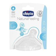 Chicco - Tetina  STEP UP, 0luni+, flux normal
