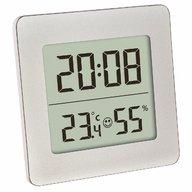 TFA - Termometru si higrometru digital cu ceas si alarma