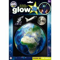 The Original Glowstars Company Stickere 3D - Planeta Pamant The Original Glowstars Company B8105