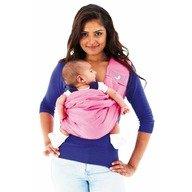 TheBabaSling Sling bebe Geranium Pink